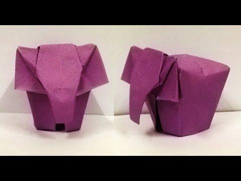 How To Make An Origami Elephant - YouTube | 360x480