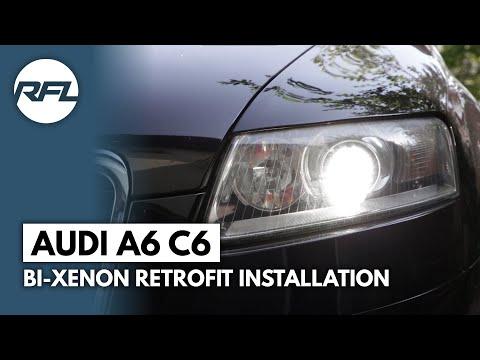 Audi A6 C6 Hella EvoX-R retrofit | Retrofitlab Blog