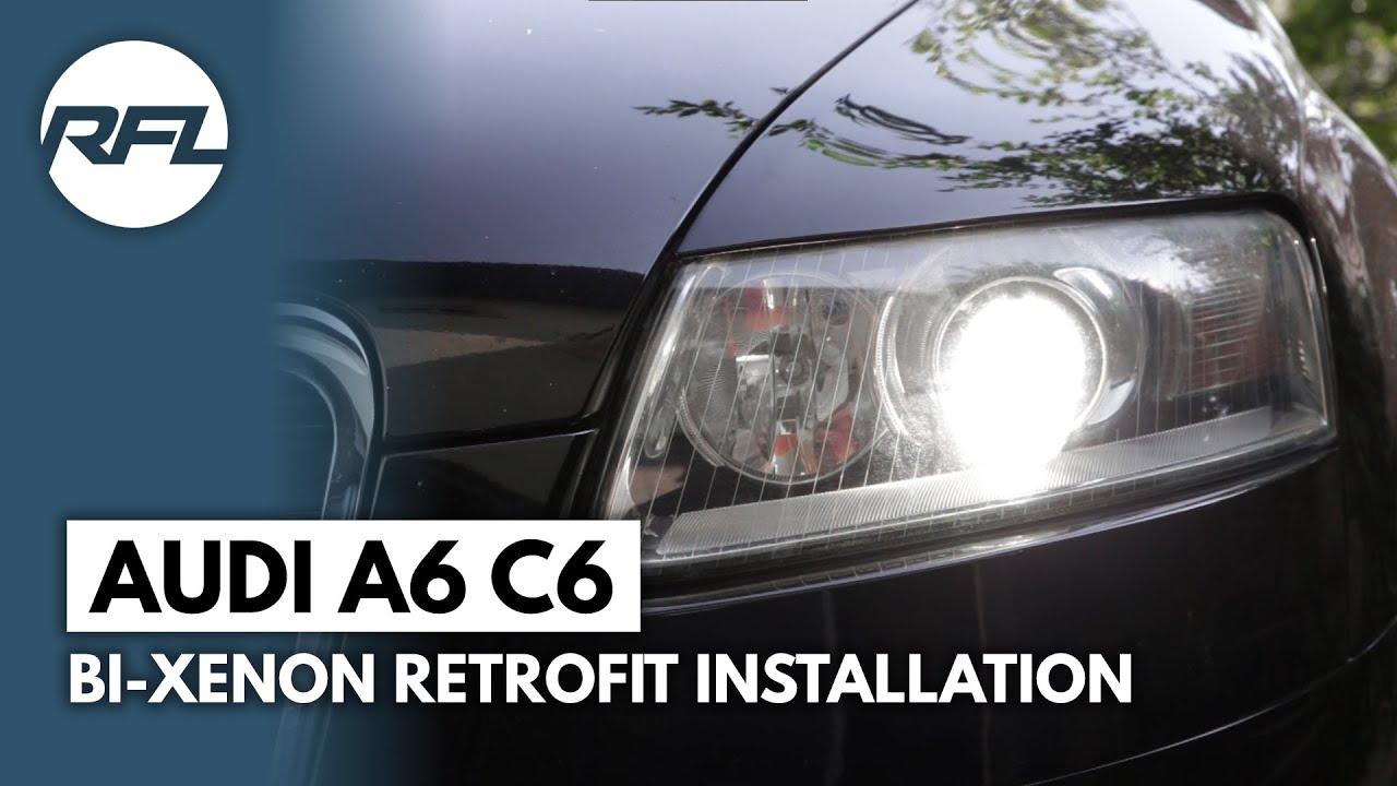 Audi A6 C6 Hella EvoX-R retrofit   Retrofitlab Blog