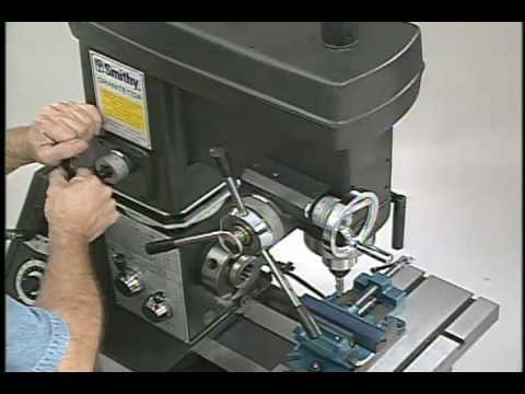 SMITHY GRANITE 3-in-1 Metal Benchtop Combo - MILLING Basics Video - grooves, pockets, gears
