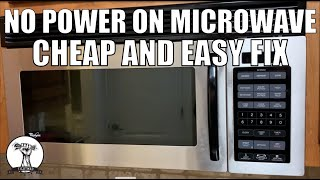 easy fix microwave won t turn on no