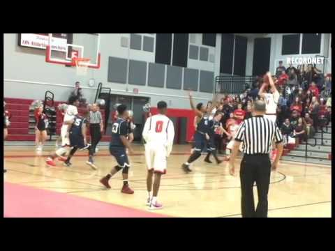 cf4db83ab Hayes hits game-winner as West boys basketball nips Lincoln - YouTube