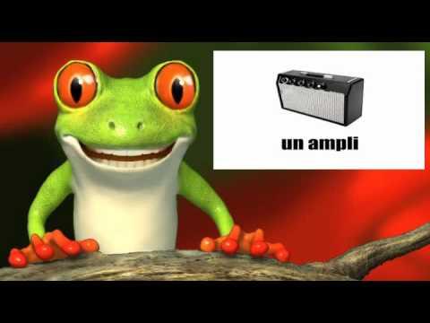 French lesson - Les instruments de musique