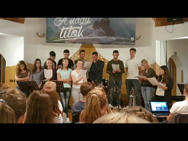 Hargita Ifjúsági Tábor-2016-Ballai ifjúság szolgálata