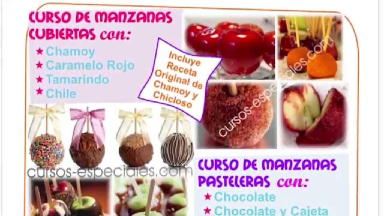 Como Hacer Manzanas Cubiertas - con Chamoy, Chocolate - YouTube