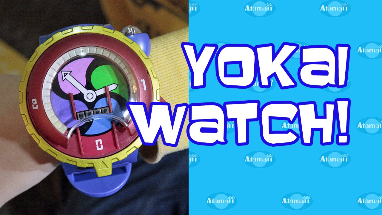 Yo Kai Watch Japanese Anime Toy Review Youtube