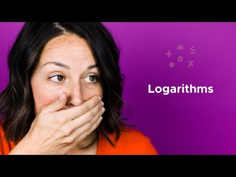 Why can't logarithms be negative?