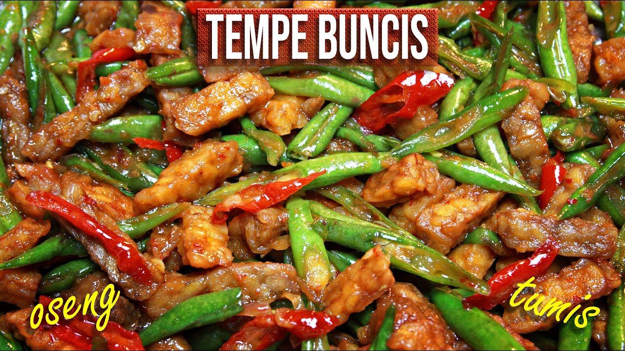 Tempeh Green Beans Recipe - Stir-fry