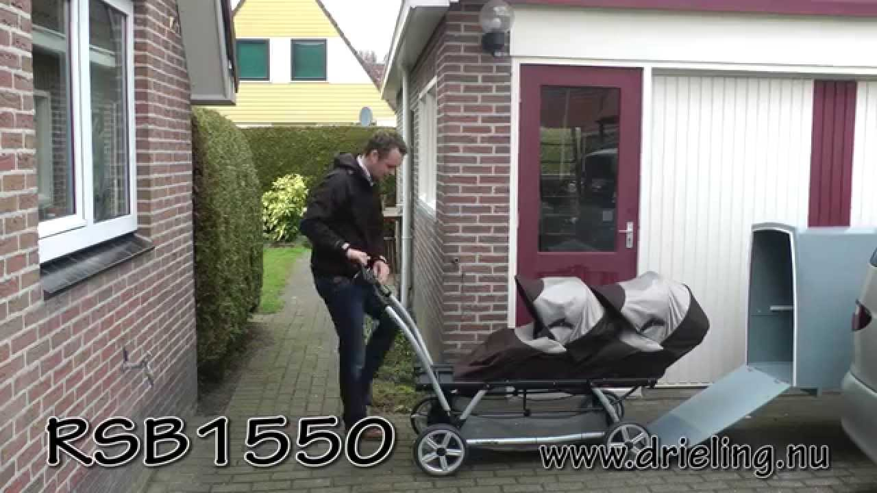 Peg perego triplette car container - YouTube