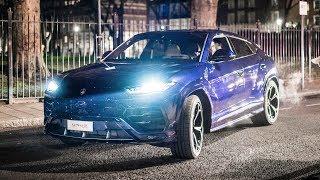*FAIL* First UK Lamborghini Urus Hits a Kerb and Cracks Wheel!