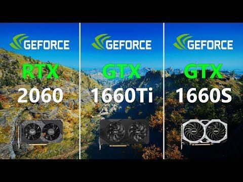 RTX 2060 Vs GTX 1660 Ti Vs GTX 1660 SUPER Test In 9 Games