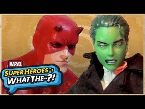 Daredevil Vs. She-Hulk - Marvel Super Heroes: What The--?! Ep. 33