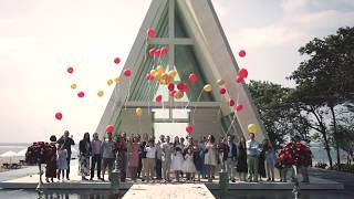 Warna Project - Trailer Wedding Eloise & Daryn at Conrad, Bali