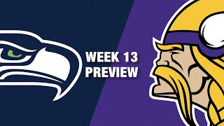 Seahawks vs. Vikings Preview (Week 13) | NFL