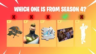 GUESS SEASON 1 TO SEASON 9 BATTLE PASS - Fortnite Battle Royale