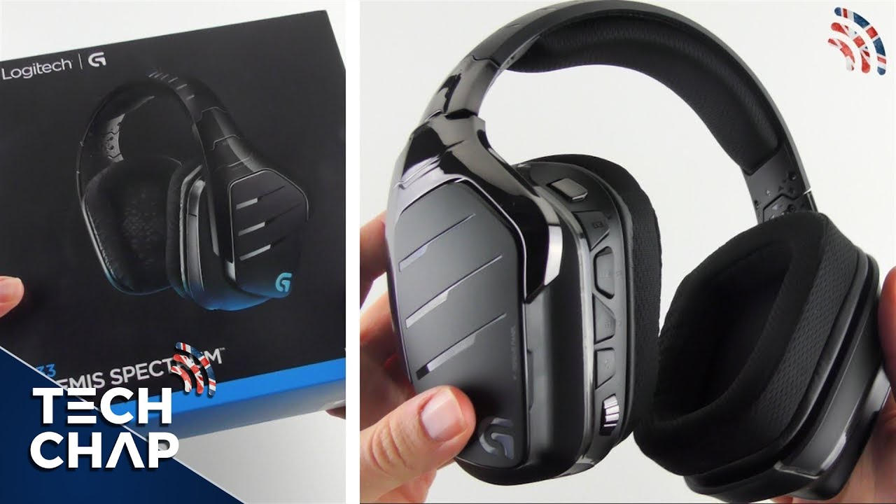Logitech G933 Unboxing & First Look | Gaming Headphones