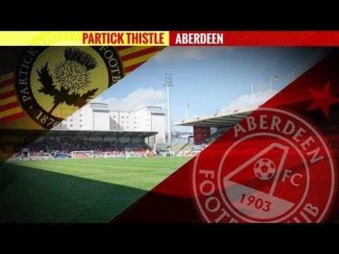Partick thistle 3-4 Aberdeen