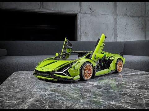 Lamborghini Sián FKP 37 de LEGO, objeto del deseo a escala