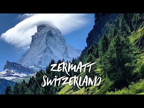 Join us in Zermatt Switzerland and enjoy a taste of Toblerone in front of the Matterhorn