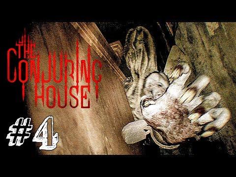 НАСТОЯЩИЙ ХОРРОР! ► The Conjuring House Прохождение #4 ► ИНДИ ХОРРОР ИГРА