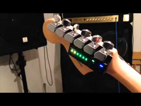 Tronical Typ C1 Tune Demo - Automatic Guitar Tuning - How It Works