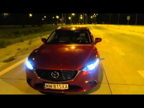 2015 Mazda 6 Touring Wagon 2.0 Manual Night Test Drive Sound Insulation Fuel Consumption part 2