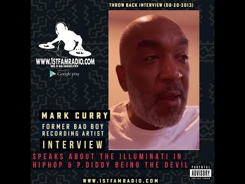 Mark Curry Live on 1st Fam Radio  Speaks about Illuminati in Hip Hop  and  P. Diddy the Devil
