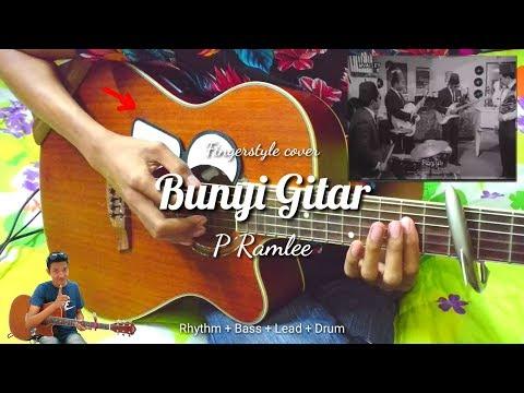 (FULL) BUNYI GITAR - P Ramlee OST 3 Abdul | Fingerstyle + Drum | Easy Chord Remake Video | Faiz Fezz