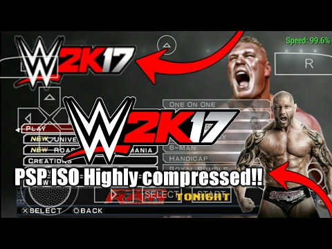 How to Download WWE 2k17 PSP highly compressed Iso in any Android