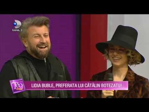 Teo Show (03.12.2018) - Lidia Buble, preferata lui Catalin Botezatu!