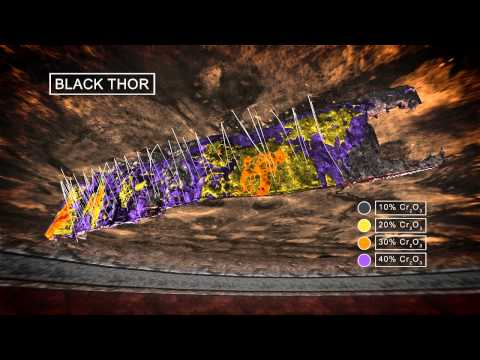 Mining Chrome Technical 3D Animation / IR PR Presentation Ontario Canada Cliffs Natural Resources