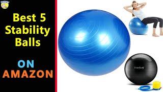 Best 5 Stability Balls Under $50 On AMAZON 2020