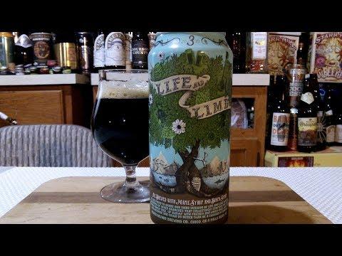 Sierra Nevada / DogFish Head Life And Limb No. 3 - 2019 (10.2% ABV) DJs BrewTube Beer Review #1254