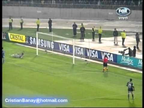 Universidad de Chile 1  Libertad 1 (5-3) Copa Libertadores 2012 ( Audio  ADN Radio Chile Fm 91.7 )