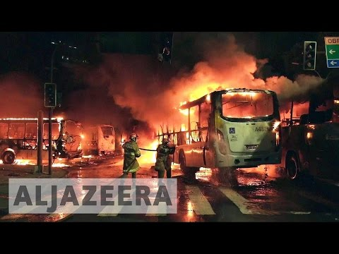 Violent protests greet Brazil labour laws overhaul