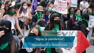 """""""En la Ciudad hay derecho a la manifestación y derecho a la expresión, pero es importante que todo aquel que se quiera manifestar considere el tema de la pandemia"""", dijo la jefa de Gobierno"""