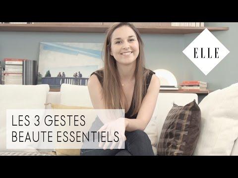 3 gestes beauté essentiels┃ELLE Skincare