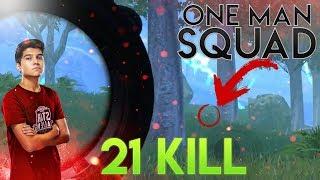 21 KILL IN SANHOK !! | PUBG Mobile Gameplay #1v4