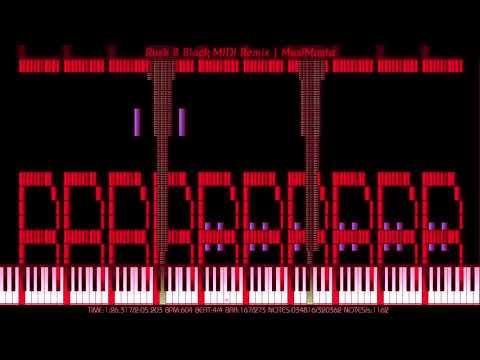 [Black MIDI] Rush 🅱, But It's A Black MIDI Remix | MusiMasta | 320K Notes