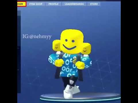 Oof Roblox Dance Moves Fortnite Youtube