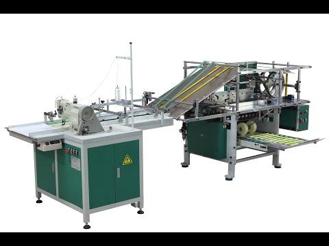 Auto Sewing & Folding Paper Machine