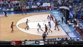 Men's Basketball: USC 75, Providence 71 - Highlights 3/15/17