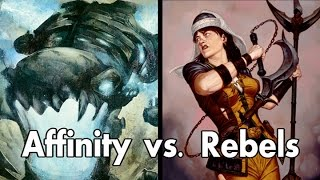Gauntlet of Greatness -  Affinity v Rebels