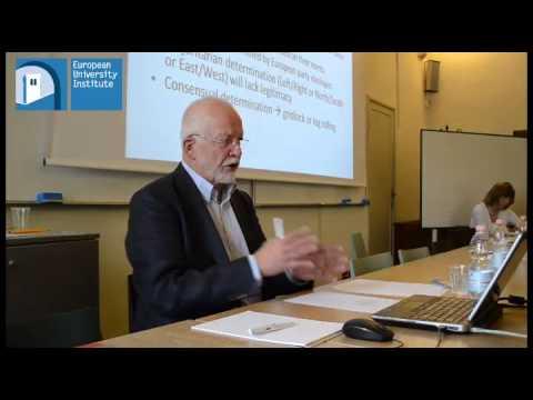 Crises and European Integration, EU Studies Working Group Seminar