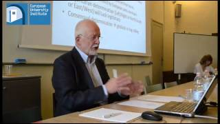 Crises and European Integration, EU Studies Working Group Seminar