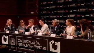 Press Conference '' Eva No Duerme'' (S.O.) - 2015