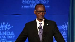 President Kagame speaks at Rwanda Cultural Day | San Francisco, 24 Sept  2016  (Part 2/2)
