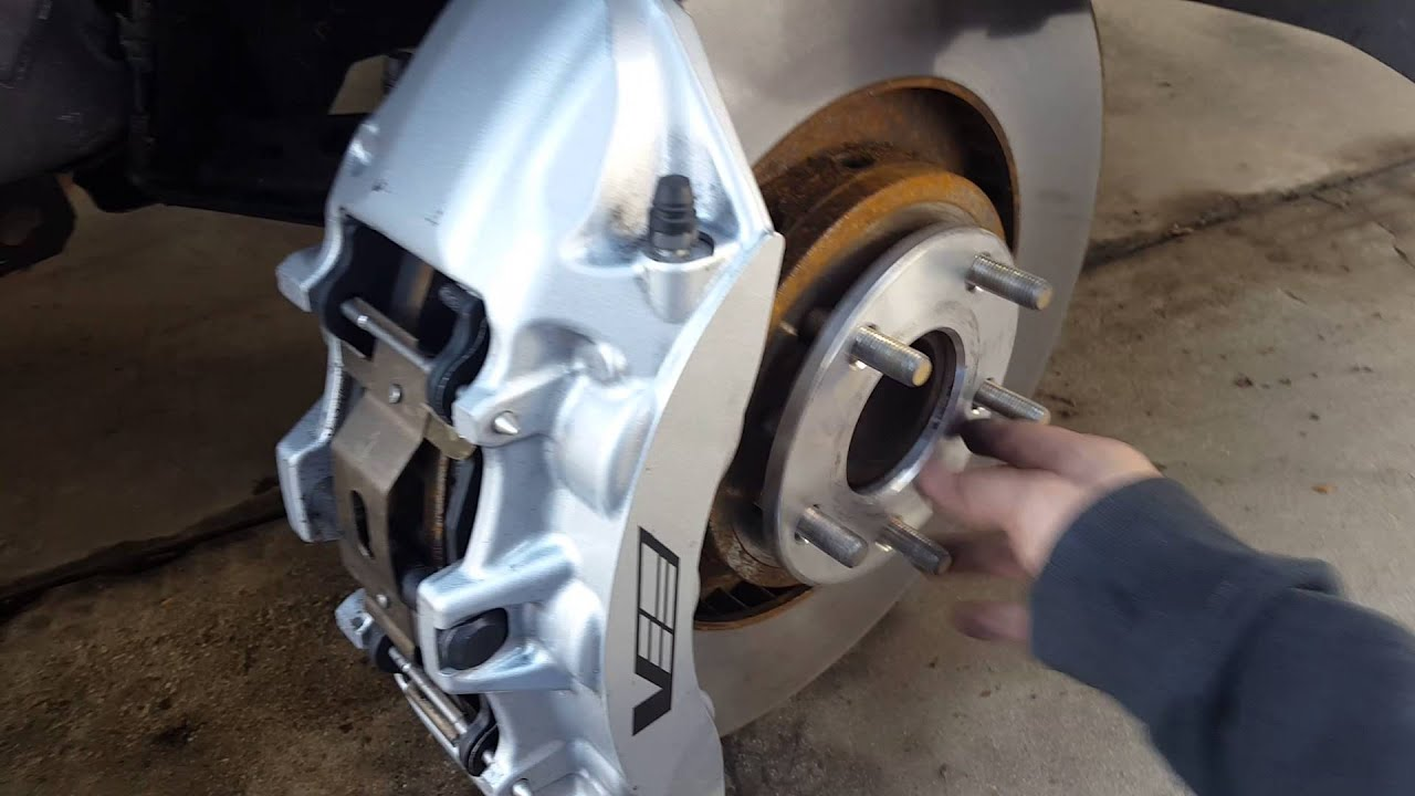 Install 6 Piston Cts V Brembo Brake Calipers On A 1998