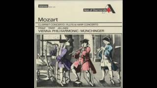 Silent Tone Record/モーツァルト:クラリネット協奏曲,フルートとハープのための協奏曲/アルフレート・プリンツ、ウェルナー・トリップ、フーベルト・イェリネク、カール・ミュンヒンガー