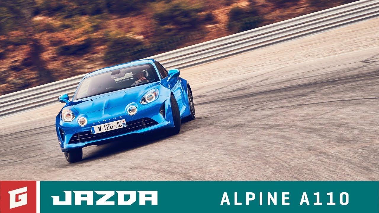ALPINE A110 - prvá jazda - GARAZ.TV - Rasťo Chvála - YouTube